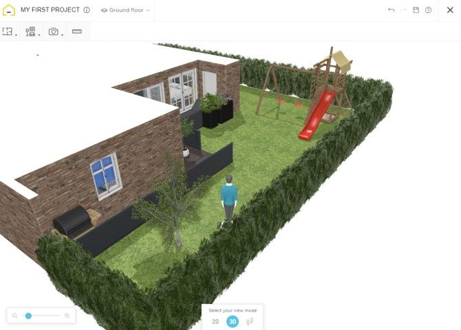 HomeByMe Backyard Design Tool
