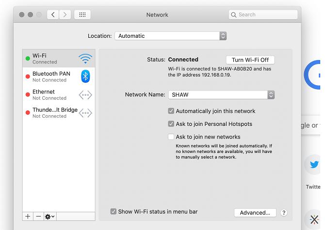 macos network window