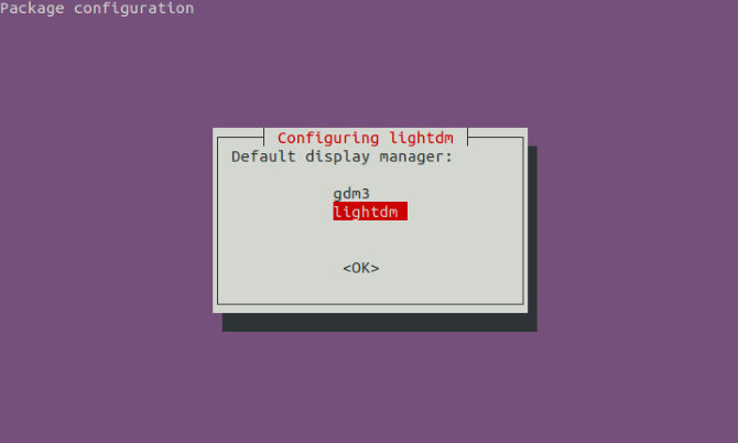 Change your Linux display manager
