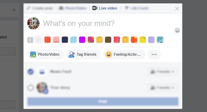 Transmisión de video en vivo de Facebook en su navegador