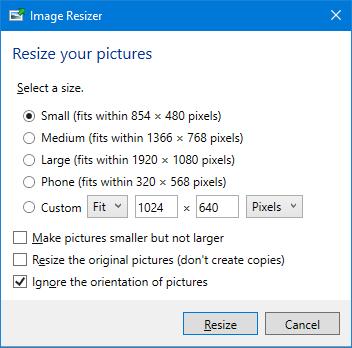 powertools image resizer