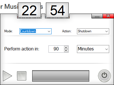 sleep timer windows shutdown timer