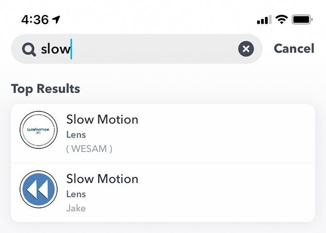 Snapchat Slow Motion Video