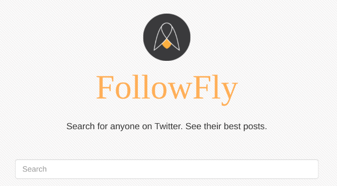 FollowFly finds any Twitter user's tweets with the most retweets or most likes in the past year