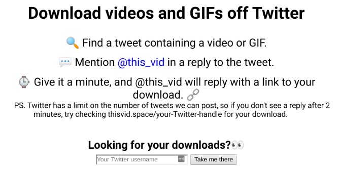 @This_Vid is the easiest way to download videos on Twitter