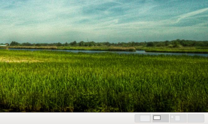 GNOME Classic workspace switcher