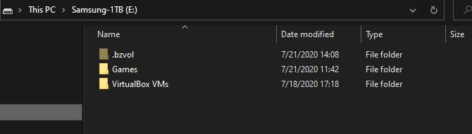 Windows Second Drive Organization