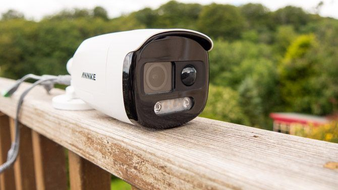 annke br200 alarm and siren 2mp analog security camera