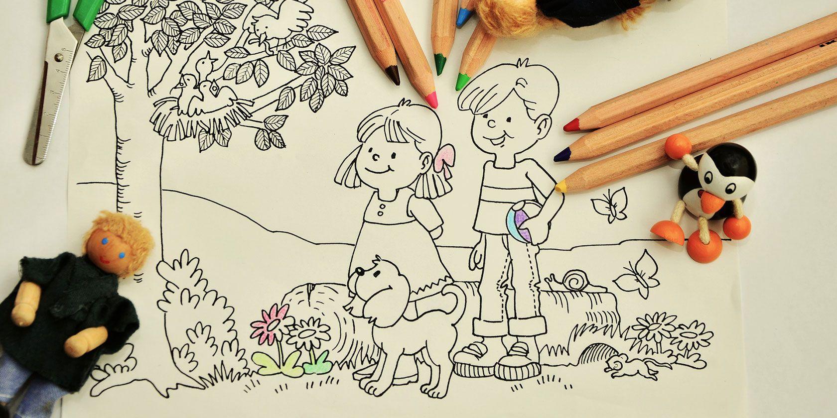 Children arts and crafts