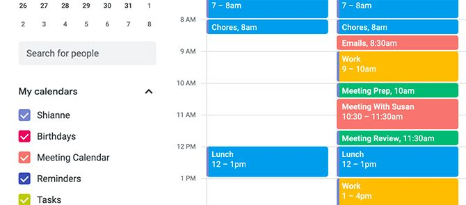 Time Blocking Google Calendar for Meeting Prep