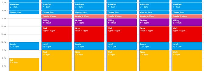 Using Google Calendar Time Blocking for Deep Work