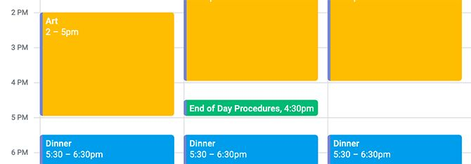 How to Time Block in Google Calendar for the End of the Workday