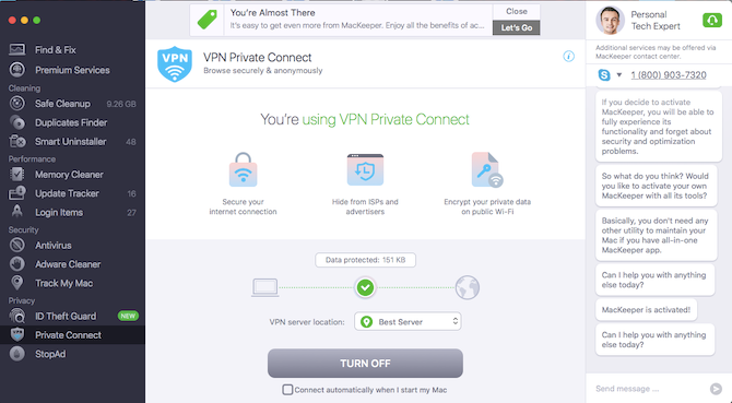 mackeeper vpn
