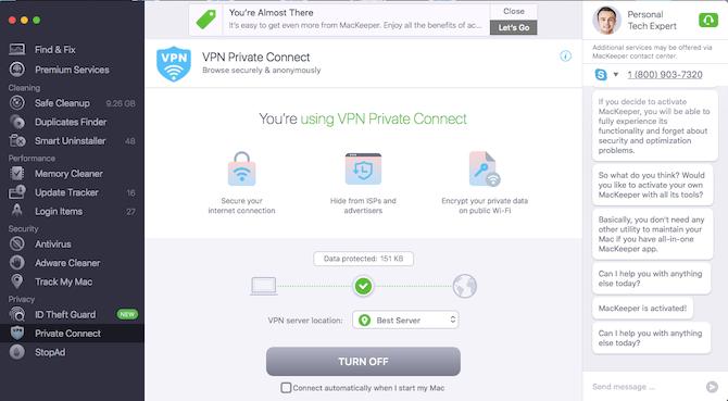 Mackeeper VPN