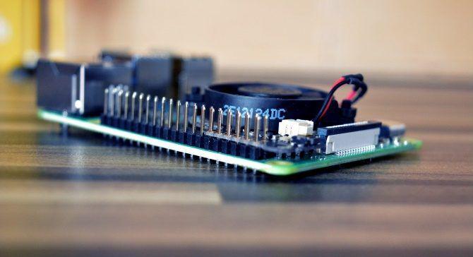 GPIO pins on the Raspberry Pi 4 8GB