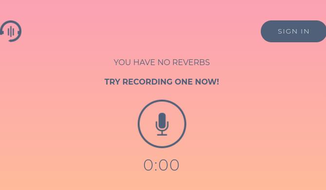 Record Reverb Chromebook audio recording