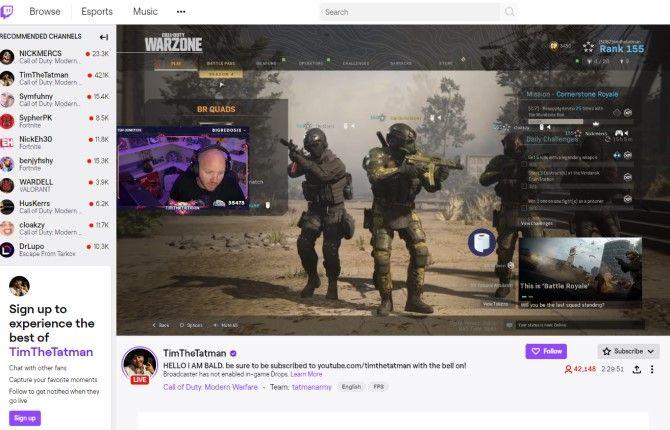 Социальные сети Twitch для геймеров