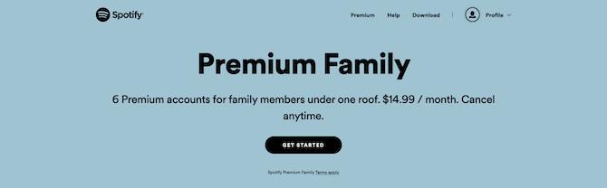 Spotify Premium Family