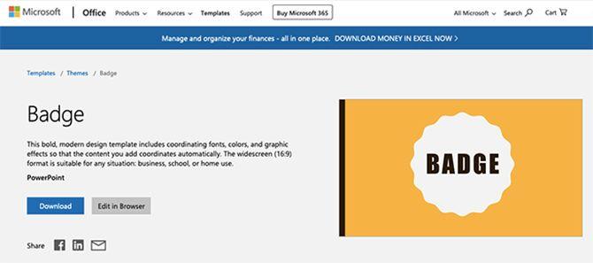 Довольно PowerPoint шаблоны Microsoft Office