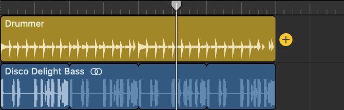 Tambahkan tombol setelah wilayah Drummer
