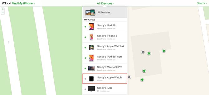 Find My On iCloudDotCom-Device Offline