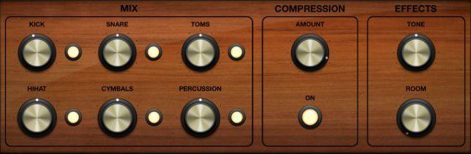 Kontrol Cerdas untuk Drummer di GarageBand