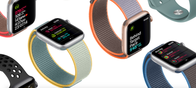 Apple Watch fitness tracking features