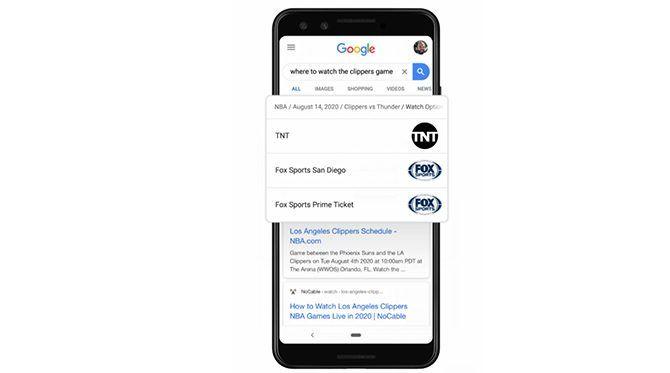 pembaruan olahraga pencarian google