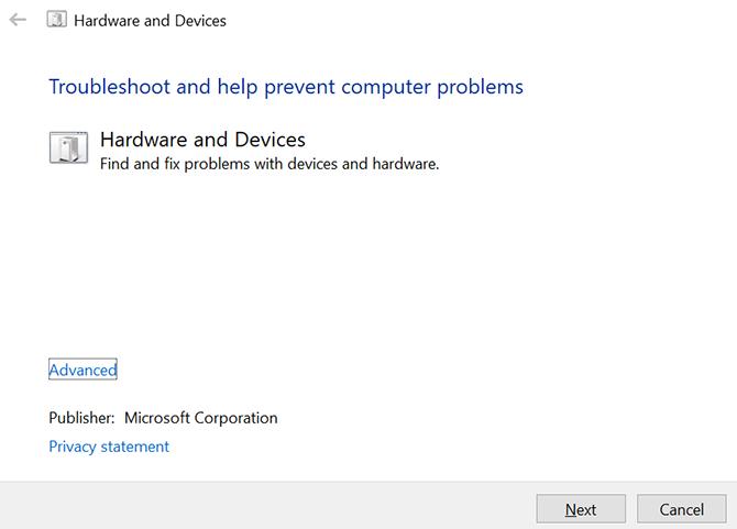 pemecah masalah perangkat keras dan perangkat