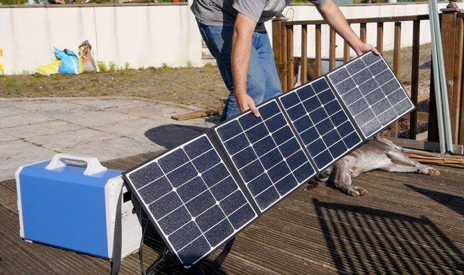 Reorient the SP150 solar panels