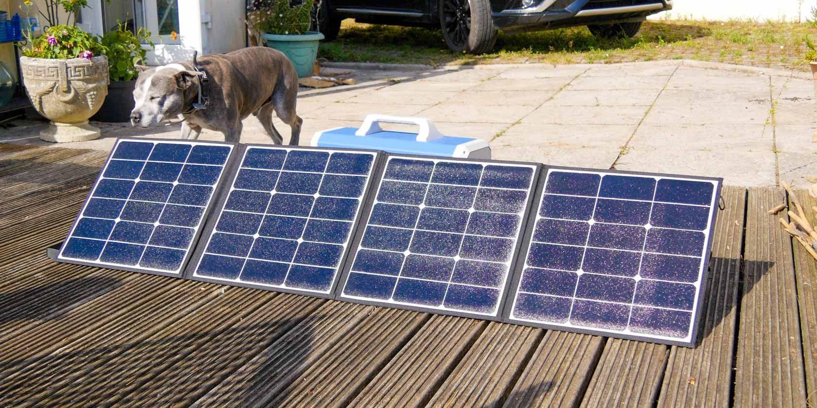 Portable, Powerful Solar Panel: Maxoak SP120 Review