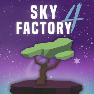 sky factory 4 modpack logo