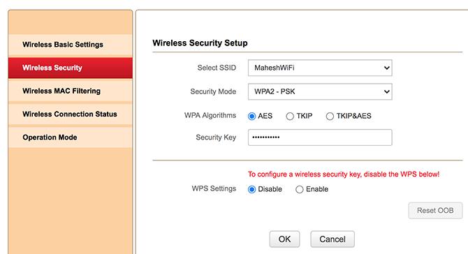 mengungkapkan kata sandi wifi dari router