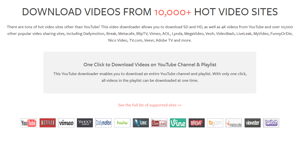 20 Free Ways To Download Any Video From The Internet