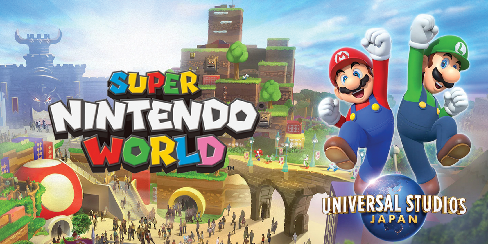 Nintendo Offers a First Look at Super Nintendo World