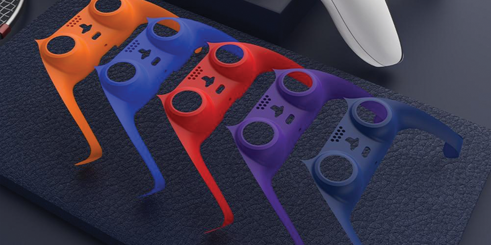 Customize Your DualSense Controller With These Colorful Faceplates