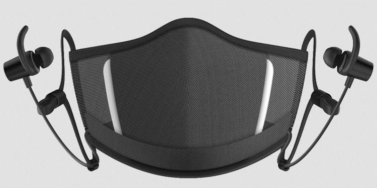 MaskFone est un masque facial N95 avec écouteurs intégrés
