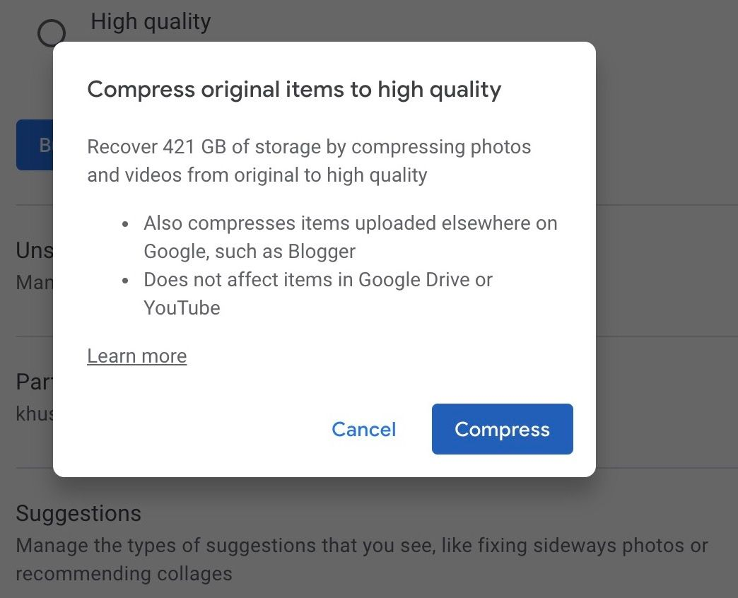 7 Ways to Free Up Storage Space on Google Photos
