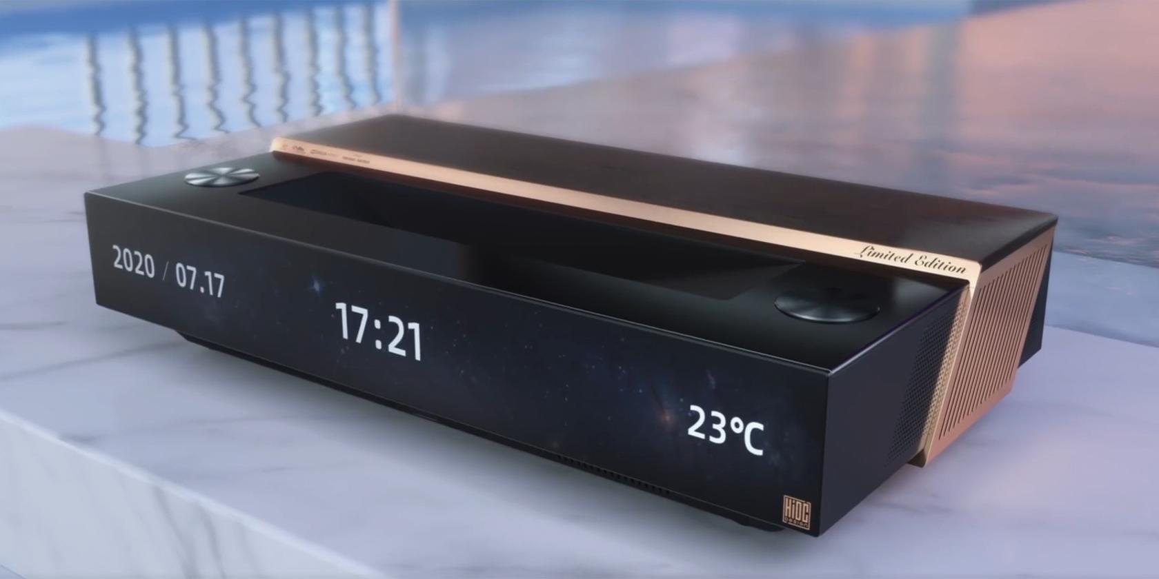 Hisense Reveals Groundbreaking Laser TV at CES 2021