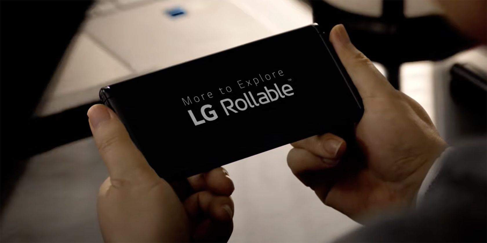 LG Officially Teases Rollable Phone at CES 2021