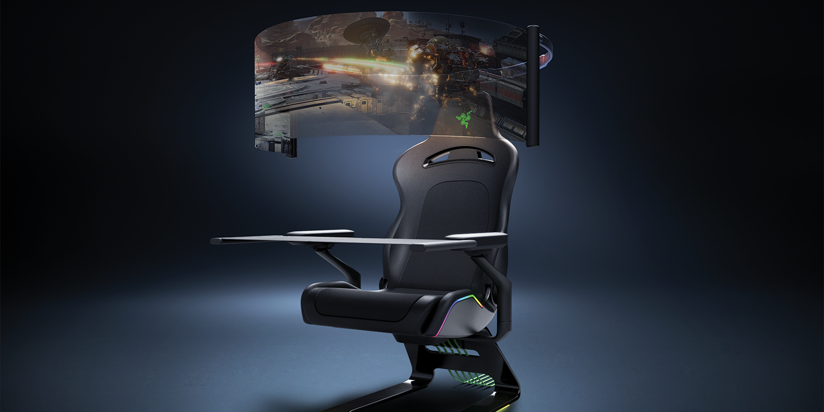 Check Out Razer's Insane Concept Gaming Chair at CES 2021
