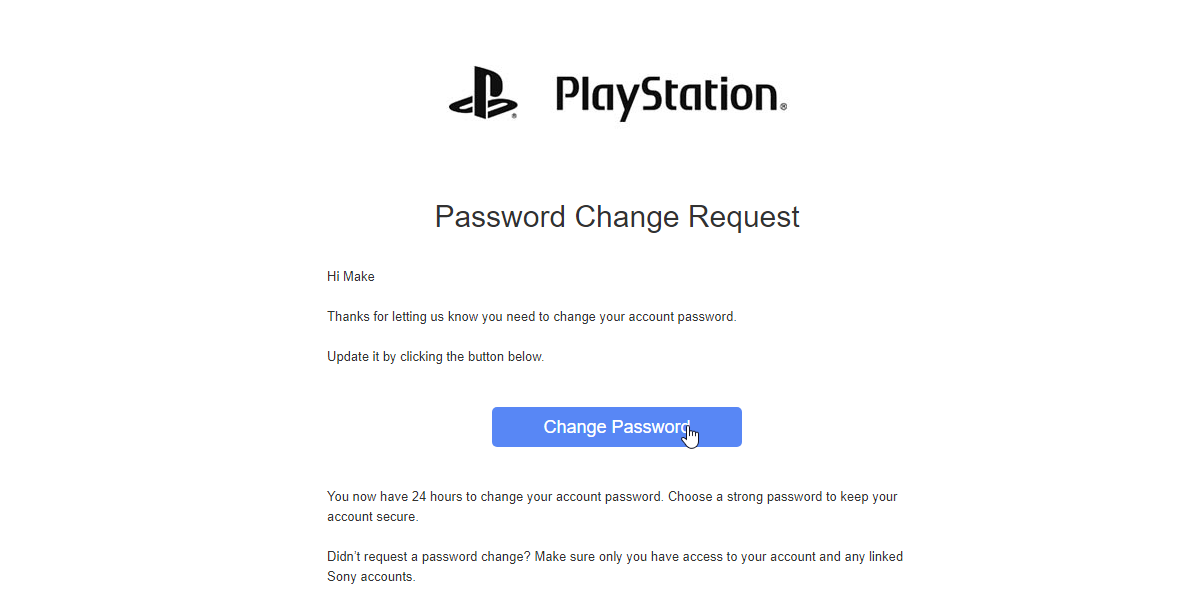 Locked Out How To Reset Your Playstation Password