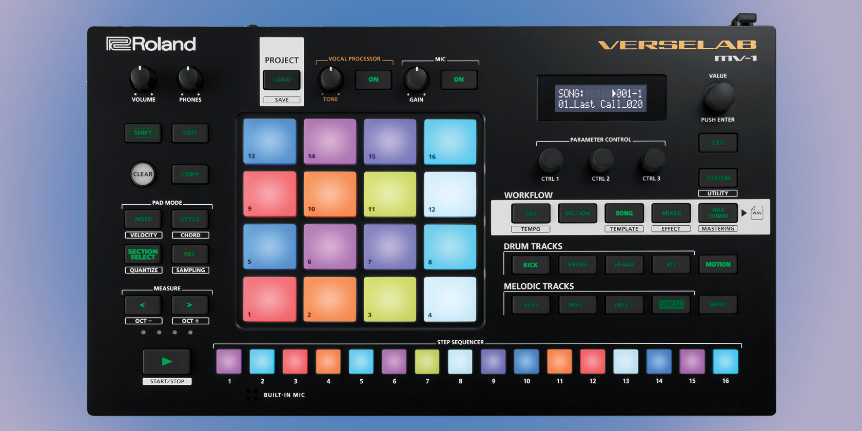 Roland Makes Noise at CES 2021 With New All-in-One Workstation