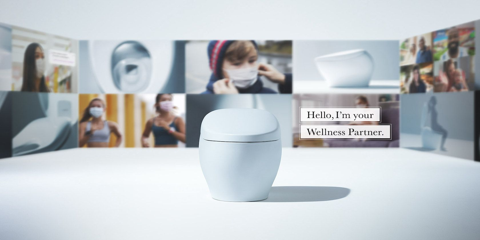 TOTO Showcases the Bathroom of the Future at CES 2021