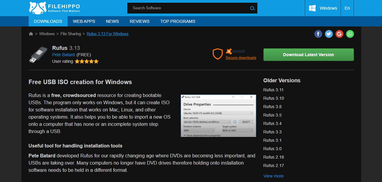 The 10 Safest Free Software Download Sites For Windows