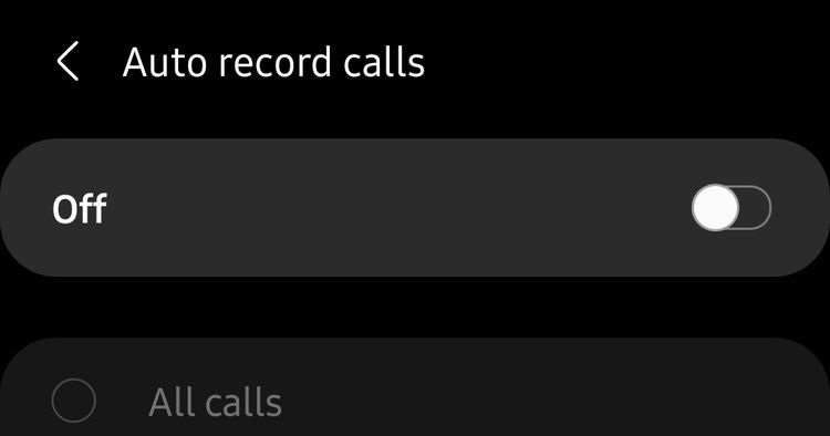 ضبط تماس خودکار در گوشیهای سامسونگ گلکسی