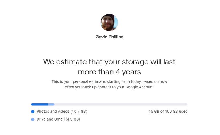 محاسبهگر حجم گوگل