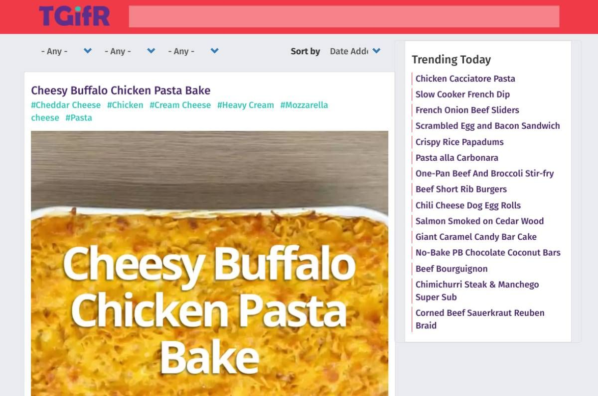 5 Visual RecipeSites to Learn How to Cook Quickly Through GIFs and Videos