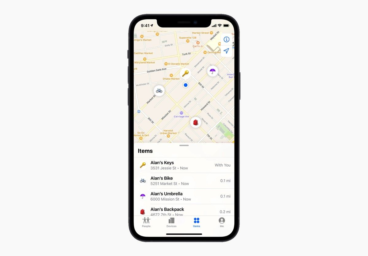 Apple Launches Tile-Like AirTags to Help You Find Lost Items