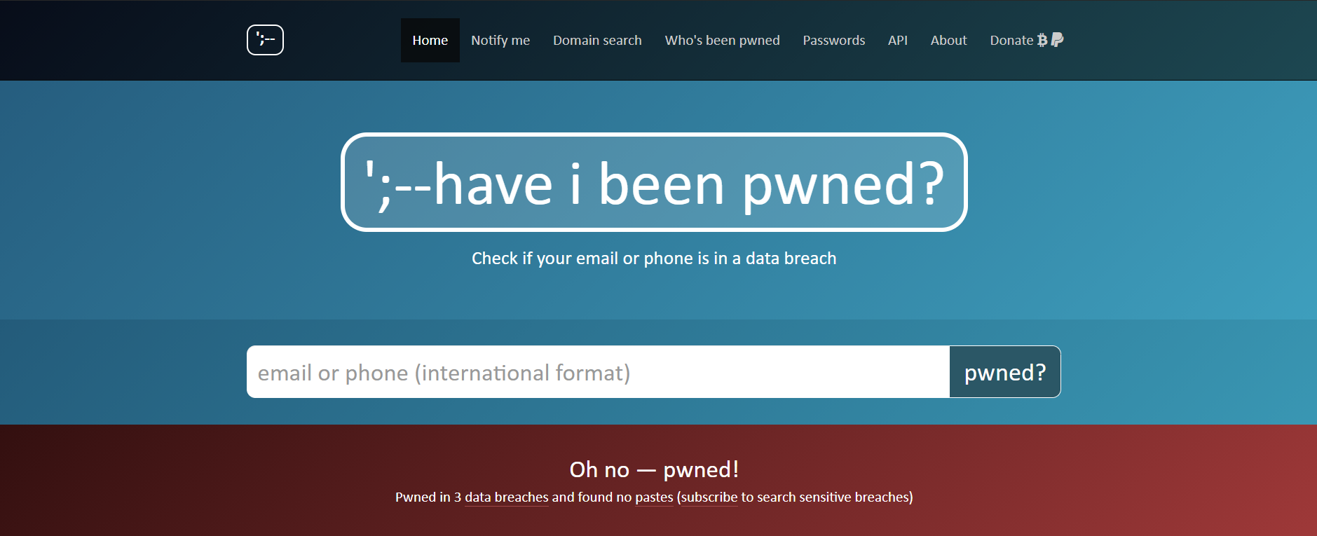 Use This Handy Site to Find Out if You've Been Affected by a Data Breach